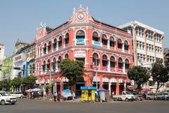 Victorian building, Yangon, Myanmar Royalty Free Stock Photography