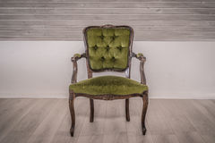 Victorian chair in a living room Stock Photo