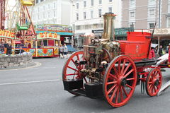 Victorian Chester fire engine Stock Photos