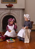 Victorian Children Royalty Free Stock Photo