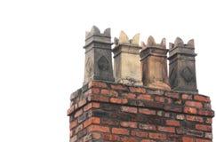 Victorian chimney pots Stock Photos