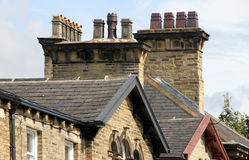 Victorian Chimney Pots Stock Images
