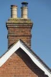 Victorian chimney stack. UK Stock Photo