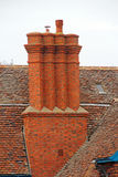 Victorian chimney stack Stock Image