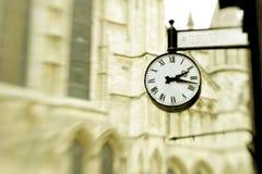 Victorian clock Stock Image