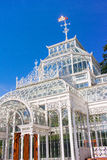 Victorian Conservatory Greenhouse stock photo