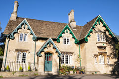 Victorian Cottage. Exterior of a Victorian Era English Cottage Royalty Free Stock Images