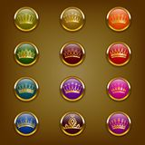 Victorian crowns Royalty Free Stock Photography