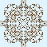 Victorian design flower Stock Photos