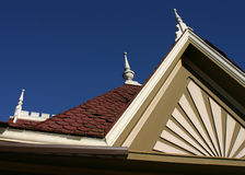 Victorian Detail. Detail of a Victorian style rooftop Royalty Free Stock Image