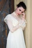 Victorian dress Royalty Free Stock Photo