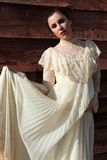 Victorian dress Royalty Free Stock Images