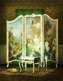 Victorian dressing room Stock Image