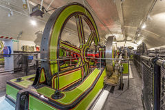 Victorian Engine Rooms, Tower Bridge. London England Stock Images
