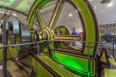 Victorian Engine Rooms, Tower Bridge Stock Photo