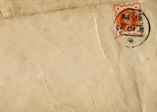 Victorian Envelope Stock Photos