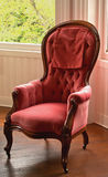 Victorian era chair Royalty Free Stock Photography