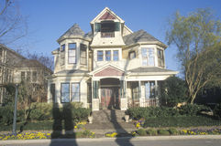 Victorian Era home in Memphis, TN Stock Photography