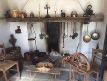 Victorian Era Swiss Kitchen stock photography