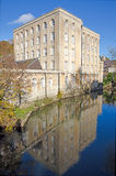 Victorian Era Warehouse, Bradford on Avon, UK Royalty Free Stock Photography