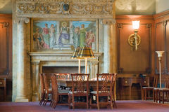 Victorian executive board room Royalty Free Stock Images