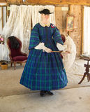 Victorian Fashion Show Stock Photography