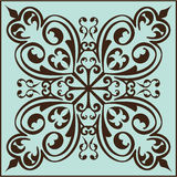 Victorian fine element. Is on blue Stock Photos