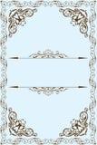 Victorian fine frame Stock Images