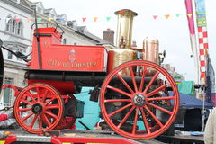 Victorian fire engine Royalty Free Stock Photo