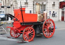 A victorian fire engine Royalty Free Stock Images
