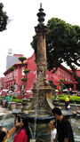 Victorian fountain at Malacca Stock Images