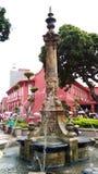 Victorian fountain at Malacca Royalty Free Stock Photos