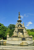 Victorian fountain. View of the Stewart Memorial Fountain, Kelvingrove Park, Glasgow Royalty Free Stock Image