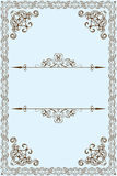 Victorian frame Royalty Free Stock Image