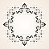 Victorian frame. Vintage design Stock Images