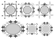Victorian frames. For your design Stock Photography