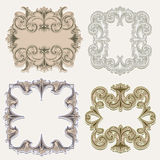 Victorian Frames Royalty Free Stock Images