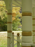 Victorian Gazebo. In the Fall Royalty Free Stock Image