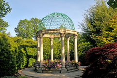 Victorian gazebo Stock Photo