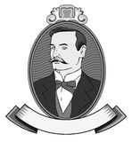 Victorian gentleman Royalty Free Stock Images