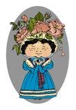 Victorian girl Stock Image
