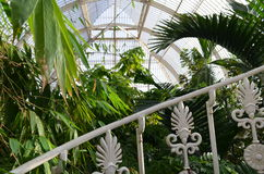 Victorian glass house at Kew Gardens. Royalty Free Stock Photos