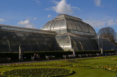 Victorian glass house at Kew Gardens. Stock Images