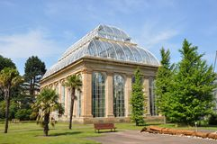 Victorian Glasshouse Stock Photo