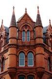 Victorian building. A red brick victorian gothic edifice in the heard of Dublin Stock Photos