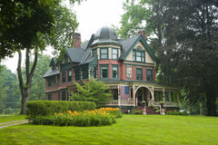 Victorian grand house Stock Photography