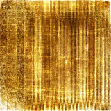 Victorian grunge background with gold pattern Stock Image