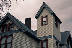 Victorian Haunted House royalty free stock images