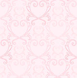 Victorian Heart Background Royalty Free Stock Photography