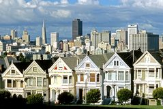 Victorian Heritage � San Francisco Royalty Free Stock Photo